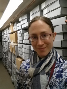 An archives shelfie