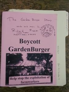 Gardenburger Boycott