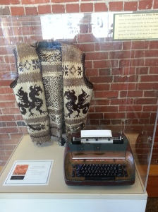 Writing Sweater and Typewriter
